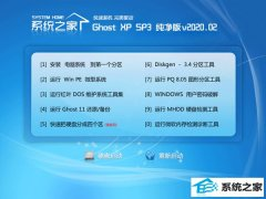 系统之家XP 优化纯净版 v2020.02
